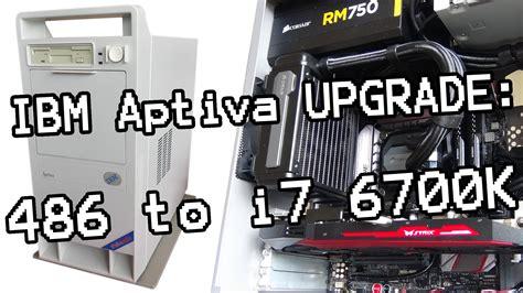 best retro pc retro pc build my 1995 ibm aptiva pc gets a upgrade