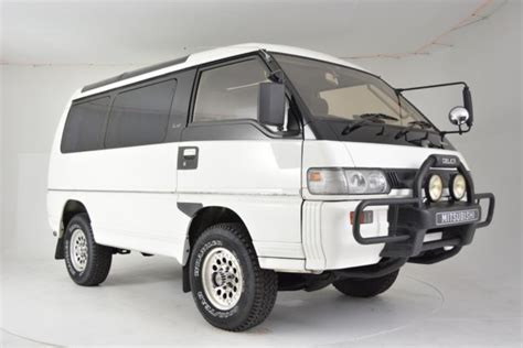 1991 mitsubishi delica 1991 mitsubishi delica 78 953 miles white van 2 4 manual