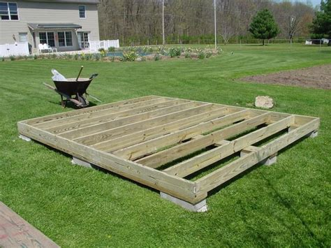How To Make A Base For A Shed by Light Foundation For Shed How To Build The Foundation
