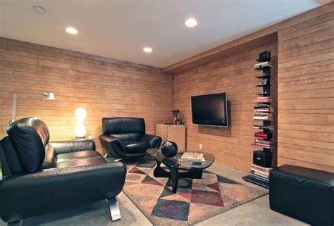 underground living room modern living room
