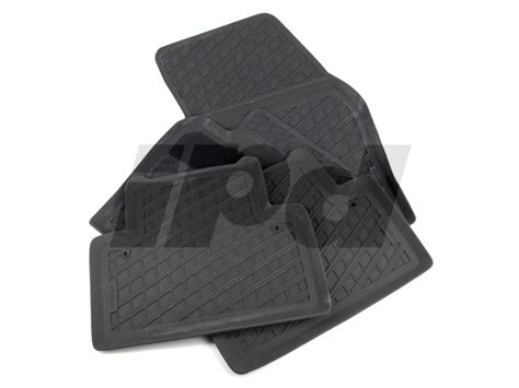 volvo rubber floor mat set p1 s40 v50 124497 39807167