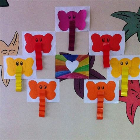 pattern art for preschoolers elephant craft idea for kids 2 crafts and worksheets