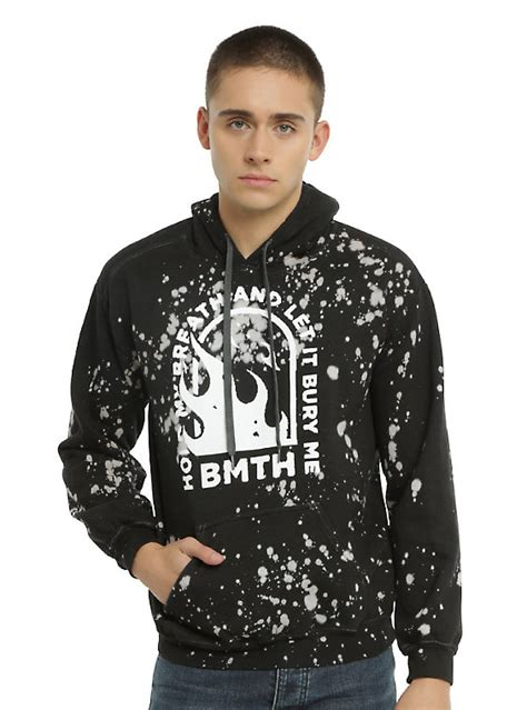 Hoodie Bring Me The Horizon Hitamrockzillastore bring me the horizon splatter hoodie topic