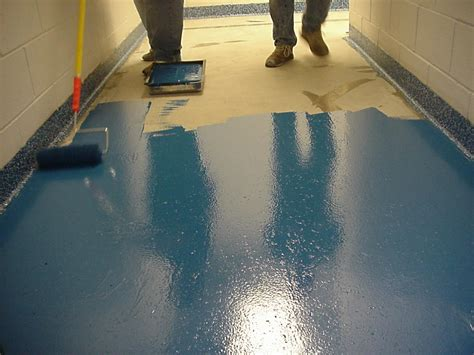 epoxidharz fussboden epoxy seamless multicolored chip flooring flake flooring