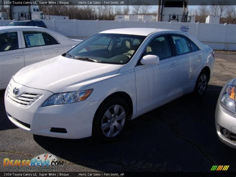 White 2009 Toyota Camry 2009 Toyota Camry Le White Bisque Photo 3