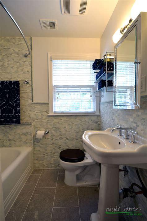 a tiny yet elegant bathroom nicole lanteri interior