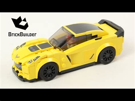 lego speed chions 75870 chevrolet corvette z06 lego