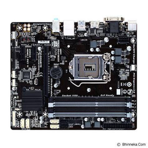 Murah Soket Sambungan Hdmi jual gigabyte motherboard socket lga1150 ga b85m ds3h a murah bhinneka mobile version