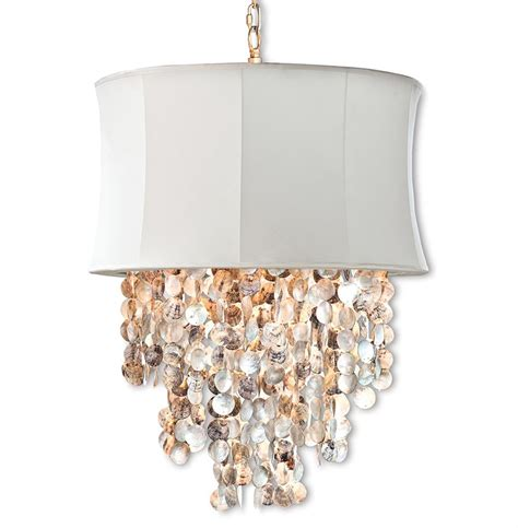 Beachy Chandeliers Queensland Coastal Abalone Shell Ivory Chandelier Kathy Kuo Home
