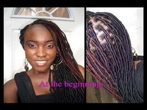 beeper braids update afro twist beeper braids youtube