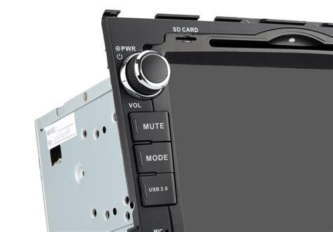 autoradio 2 din comandi al volante autoradio 2 din android 4 4 8 quot per honda gps dvd touch