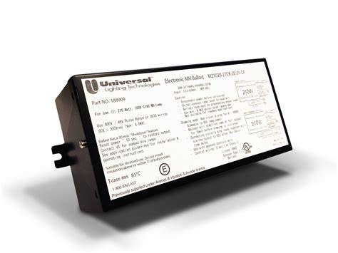 high intensity discharge ballasts approval ul canada