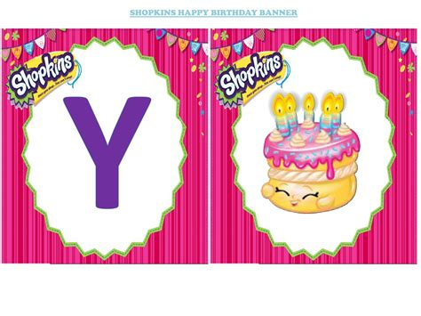 shopkins happy birthday banner printable diy love letters glitter letter blocks and buy wood letras