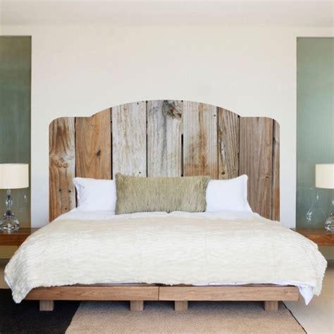 wooden rustic headboards reclaimed wood natural headboard