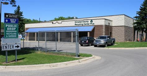recycling center  olmsted county mn