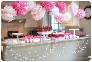 pink baby shower supplies girly pink baby shower photographer