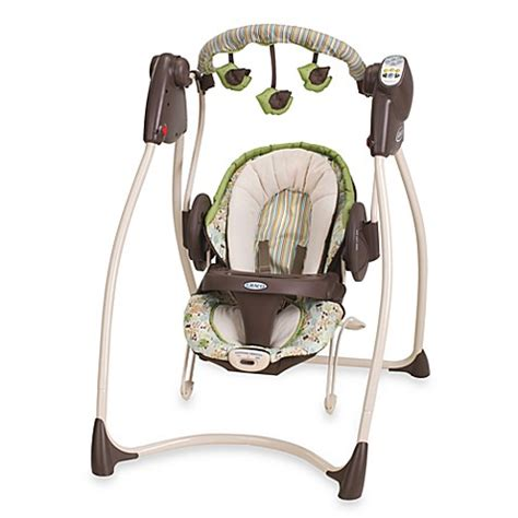 two in one swing and bouncer graco 174 swing n bounce nobel 2 in 1 infant swing buybuy baby
