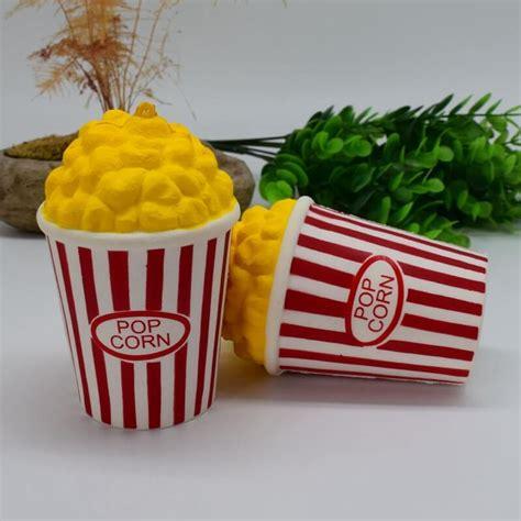 Squishy Pop Corn pu popcorn squishy food simulation toys squishy