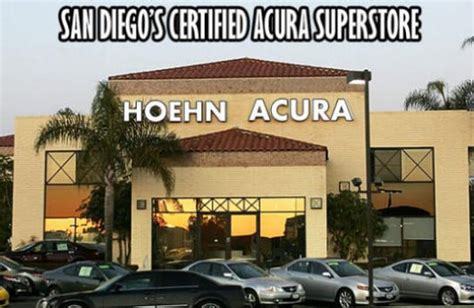 hoen acura hoehn acura carlsbad ca 92009 car dealership and auto