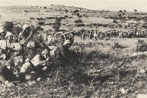 ottoman artillery 76 ottoman soldiers artillery position jerusalem 1917