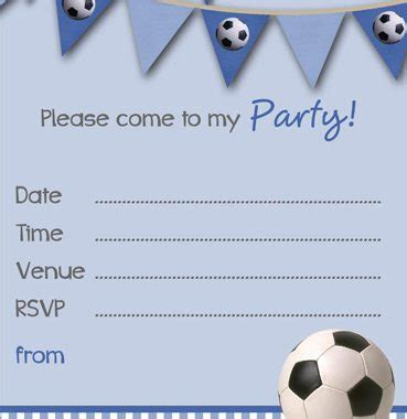 Football Invitation Template by Free Printable Football Invitation Templates
