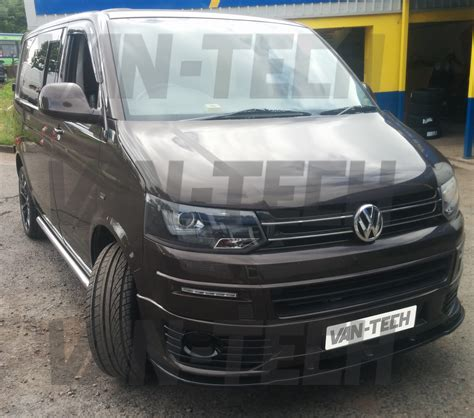 volkswagen van front vw transporter t5 to t5 1 front end conversion styling