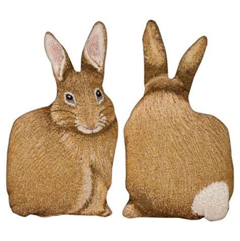 rabbit pillow easter