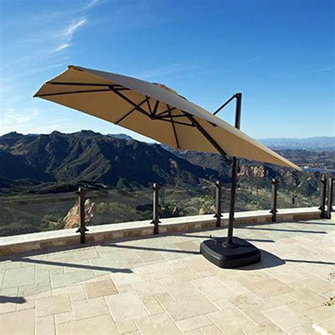 Sunbrella Canopy New Portofino Signature Resort Umbrella 10 X10 Sunbrella