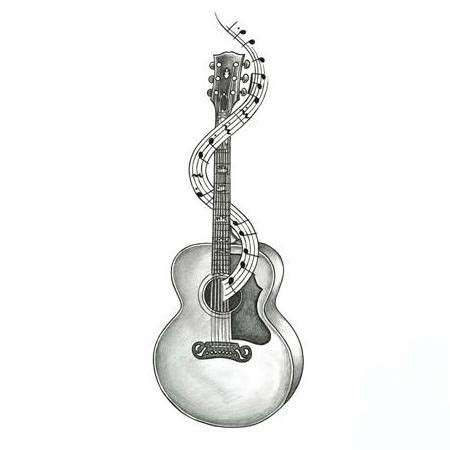 guitar tattoo designs art 25 best ideas about guitar on small