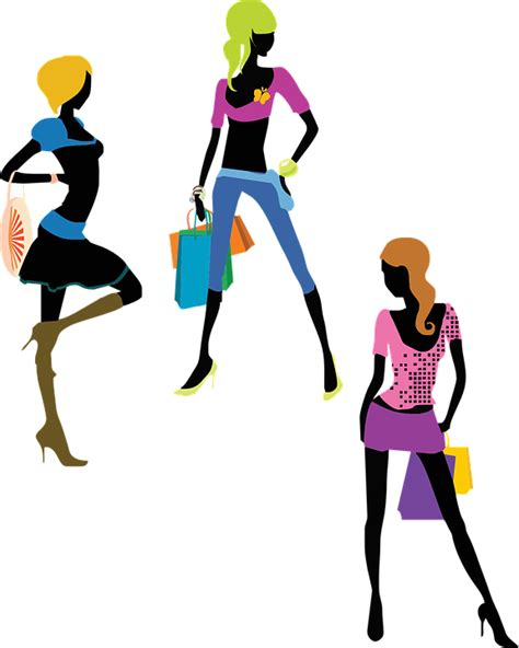 fashion pattern png free vector graphic fashion girls glamour shopping