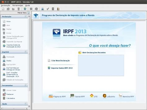 imposto de renda ebc ebc irpf 2013 como instalar o imposto de renda 2013 no