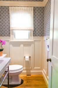 Wainscoting In Powder Room Jll Design What To Do With The Powder Room
