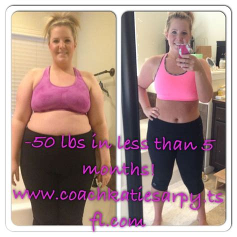 weight loss 50 lbs i lost 50 lbs in less than 5 months www coachkatiesarpy