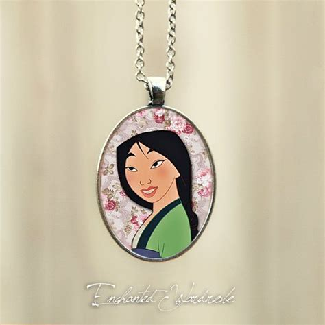 Mulan Necklace mulan necklace