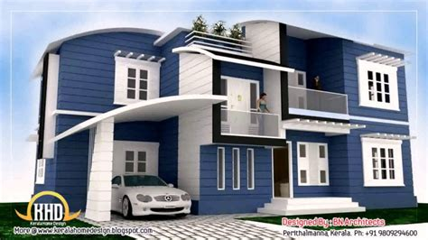 home design story level up house front elevation design for double floor theydesign