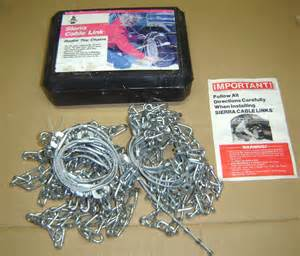 laclede snap lock cable chain laclede cable link radial tire chains 1926 ebay