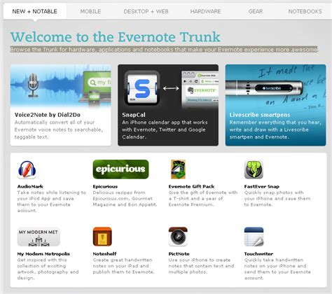 like evernote but better evernote trunk apps that make evernote even better