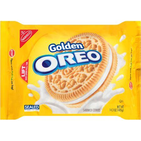 golden oreo cookies, 14.3 oz walmart.com