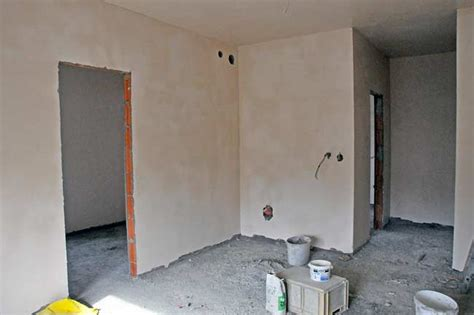 Stucco Walls Interior by Beodom Finishing The Interior Walls With Cement Plaster