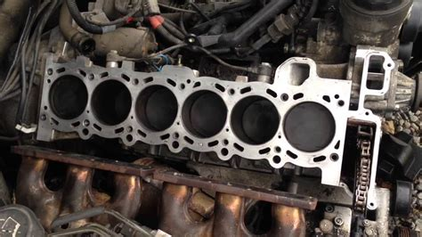 how to clean aluminum cylinder head and block on a 2012 aston martin db9 how to clean bmw block and cylinder head or any gasket surface on any car youtube