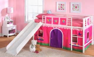 Toddler Bed With Slide Essential Home Slumber N Slide Curtain Truck Home
