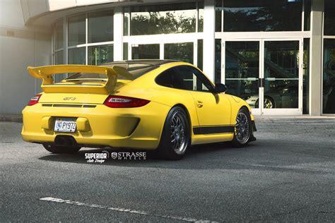 yellow porsche 911 speed yellow porsche 911 gt3 with satin black strasse