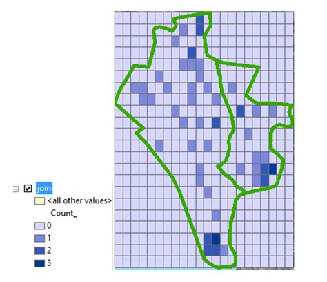 tutorial fishnet arcgis generating a fishnet grid of a species abundance and