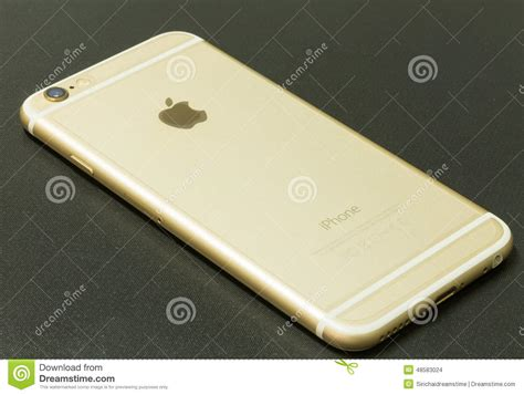 Hp Iphone 6 Di Thailand new iphone 6 gold editorial stock image image 48583024