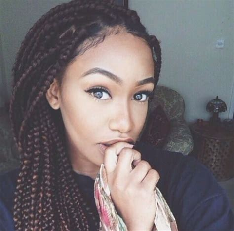 braids for a big face 79 sophisticated box braid hairstyles with tutorial