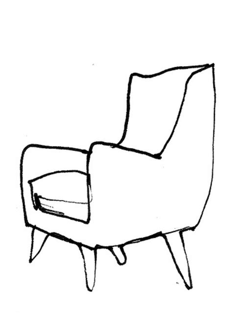 Sketch Chair by Chair Sketch Misc Sketches Drawings And