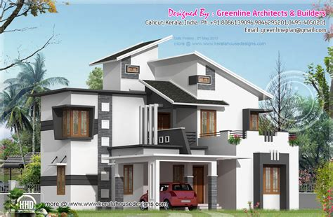 modern 3 bedroom house 1903 sq feet 3 bedroom modern house elevation home