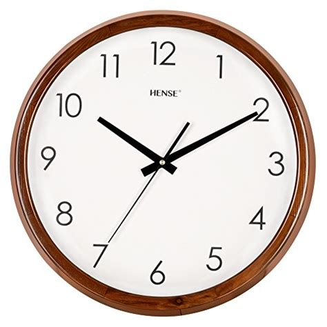 concise style silent wall clock simple home and office decorative with mk hense 14 inch large wood wall clock retro vintage