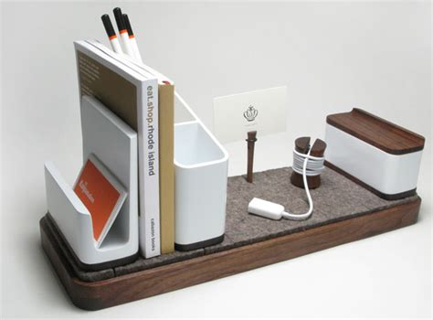 Kaiju Studios I O Desk Organizer Notcot Designer Desk Accessories And Organizers