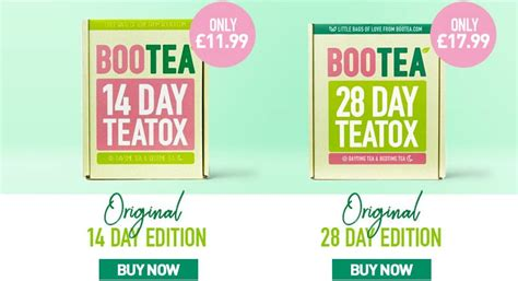 Bootea 14 Day Detox Diet by Try Bootea For Better Sleep And Energy Healthy